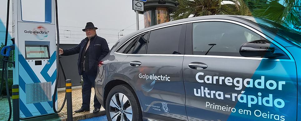 Oeiras acolhe primeira rede de carregamento ultra-rápido de veículos elétricos do país