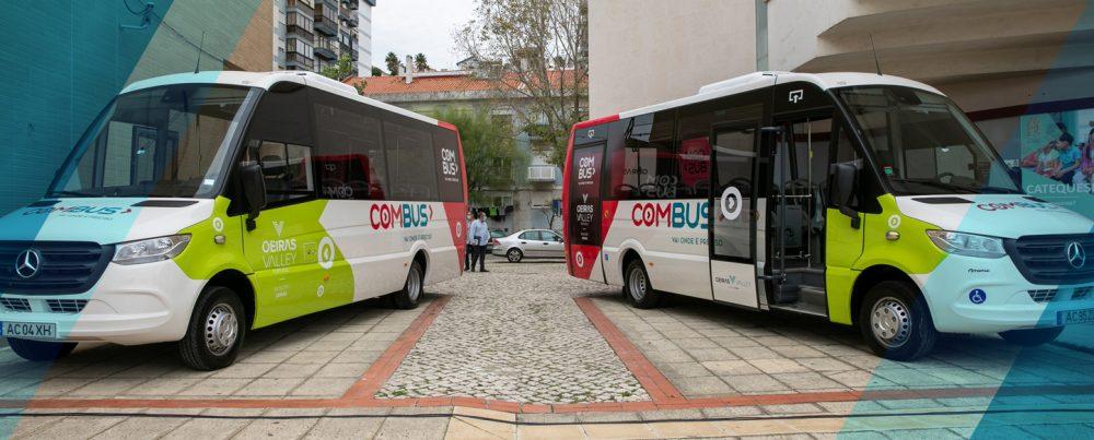 Conheça os horários e trajetos do COMBUS: O serviço gratuito de transporte público de Oeiras