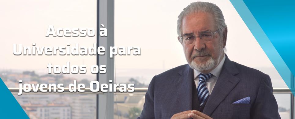 A Câmara Municipal de Oeiras vai garantir o acesso à Universidade a todos os jovens do Concelho