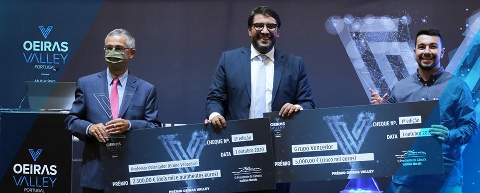 Prémios Oeiras Valley foram entregues aos três melhores projetos na área de inovação e empreendedorismo