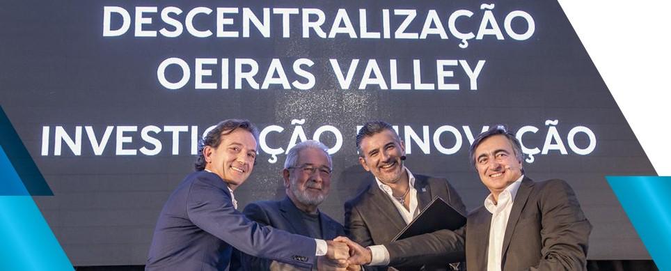 Oeiras vai receber novo polo de investigação e inovação da Altice Labs