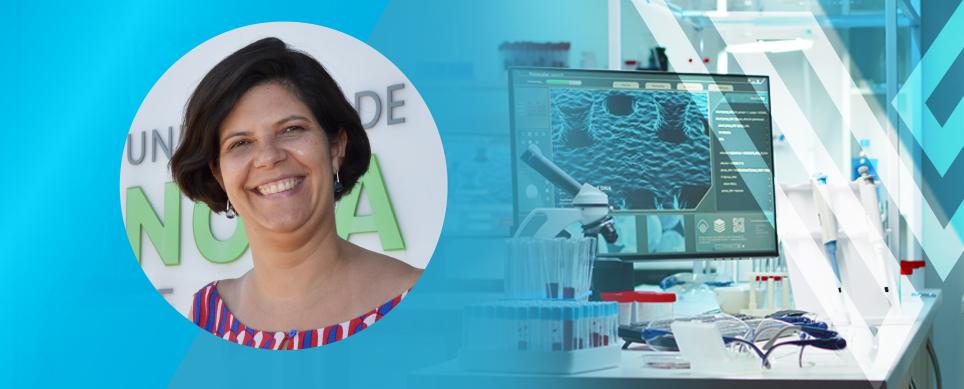 Renata Ramalho, um dos Rostos da Ciência responsável pelo programa Ciência Aberta a Oeiras